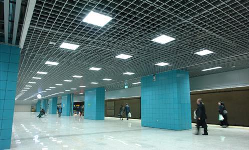 Marmaray lit by LİTPA fixtures
